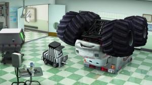 pixar disney personnage character cars toon martin poids lourd monster truck mater docteur feel bad