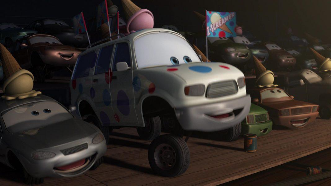 pixar disney personnage character cars toon martin poids lourd monster truck mater congélateur i-screamer fan