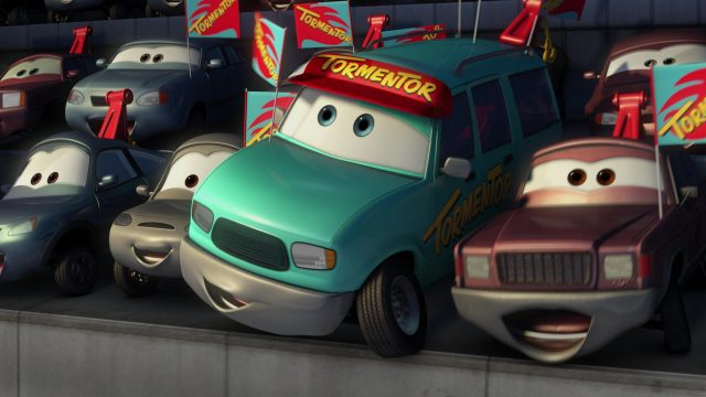 fan trepaneur tormantor personnage character cars toon disney pixar