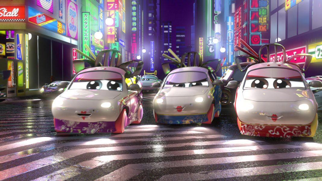 pixar disney personnage character cars toon martin tokyo mater geisha