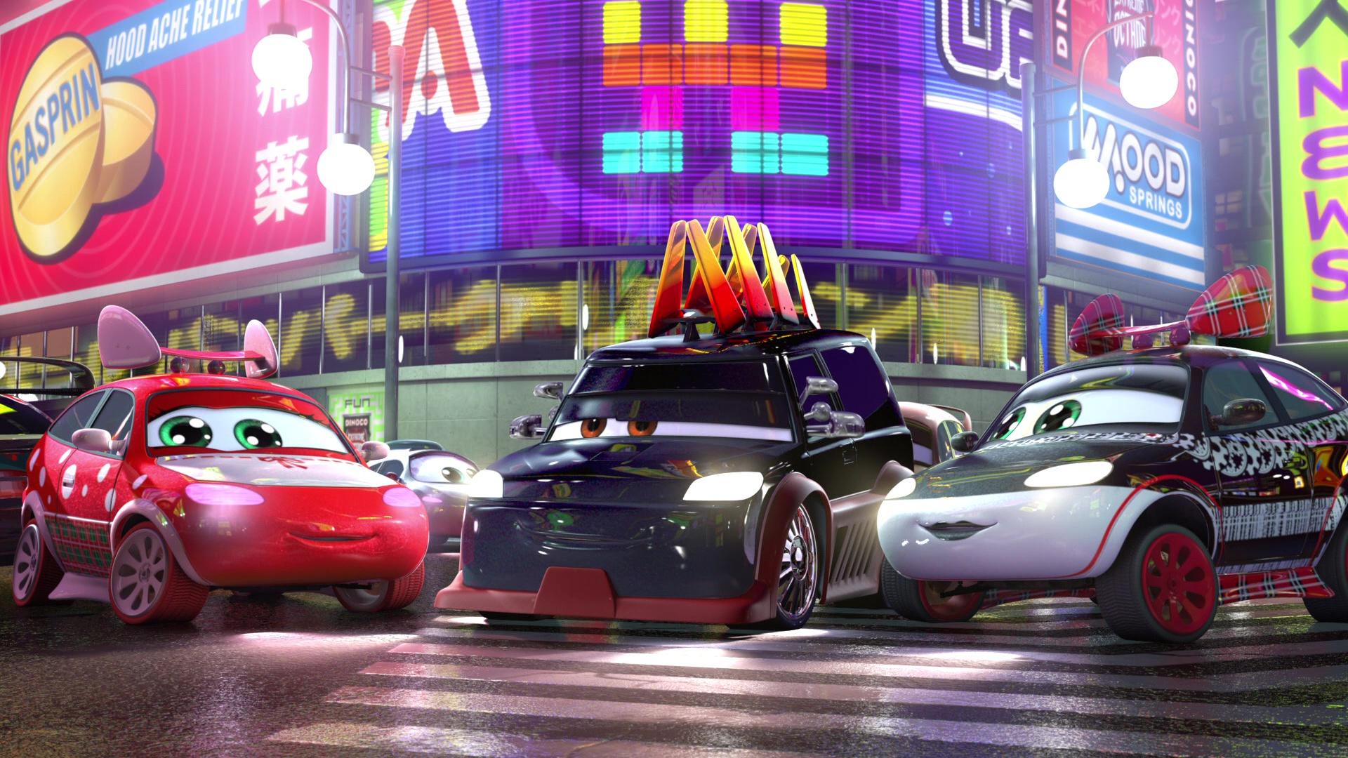 pixar disney personnage character cars toon martin tokyo mater harumi