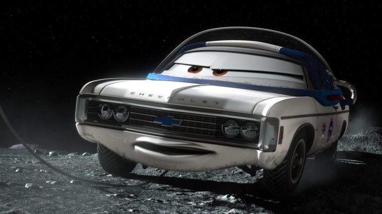 """Impala XIII, personnage dans """"Cars Toon : Martin Lunaire""""."""