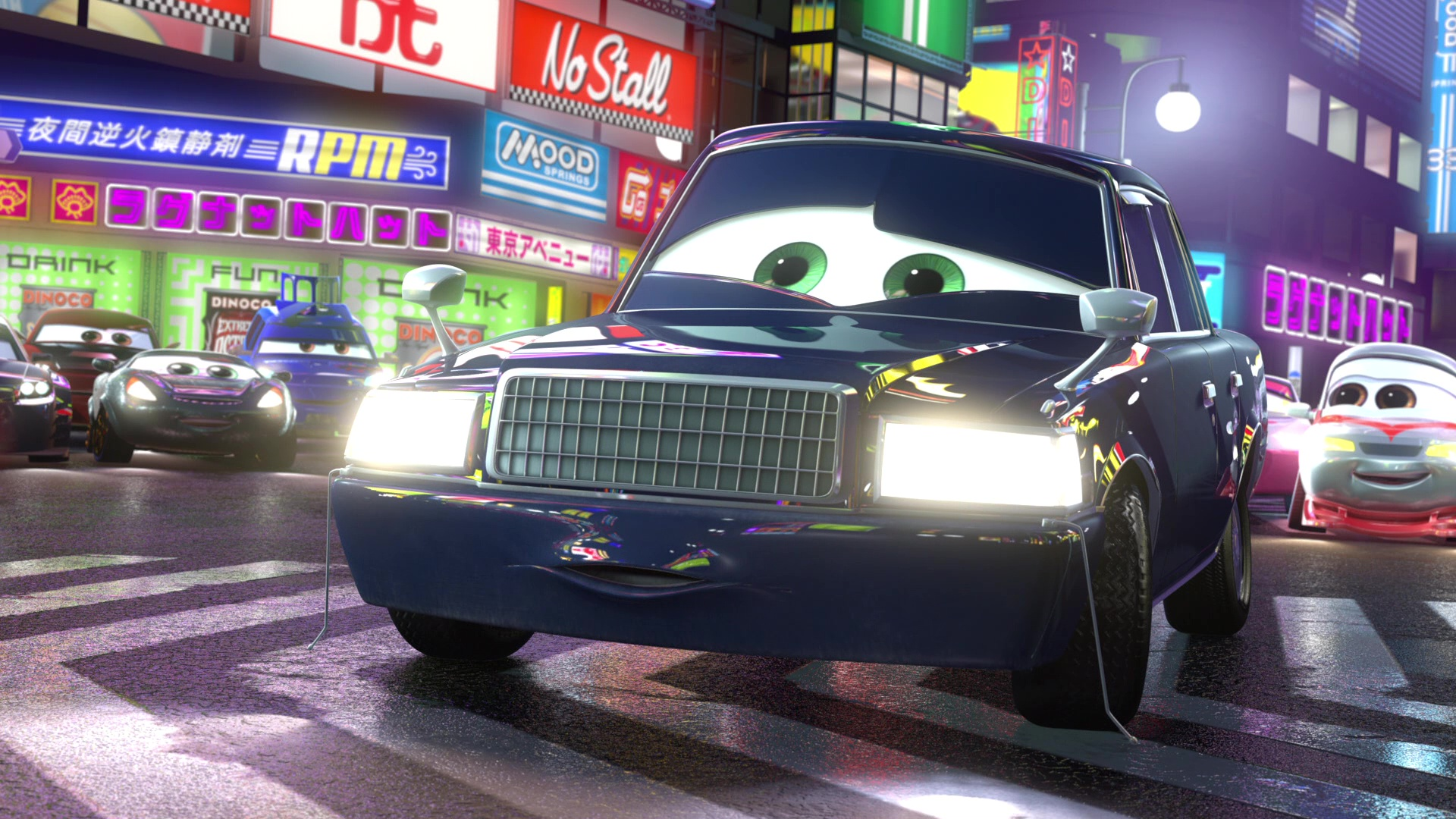 pixar disney personnage character cars toon martin tokyo mater ito-san