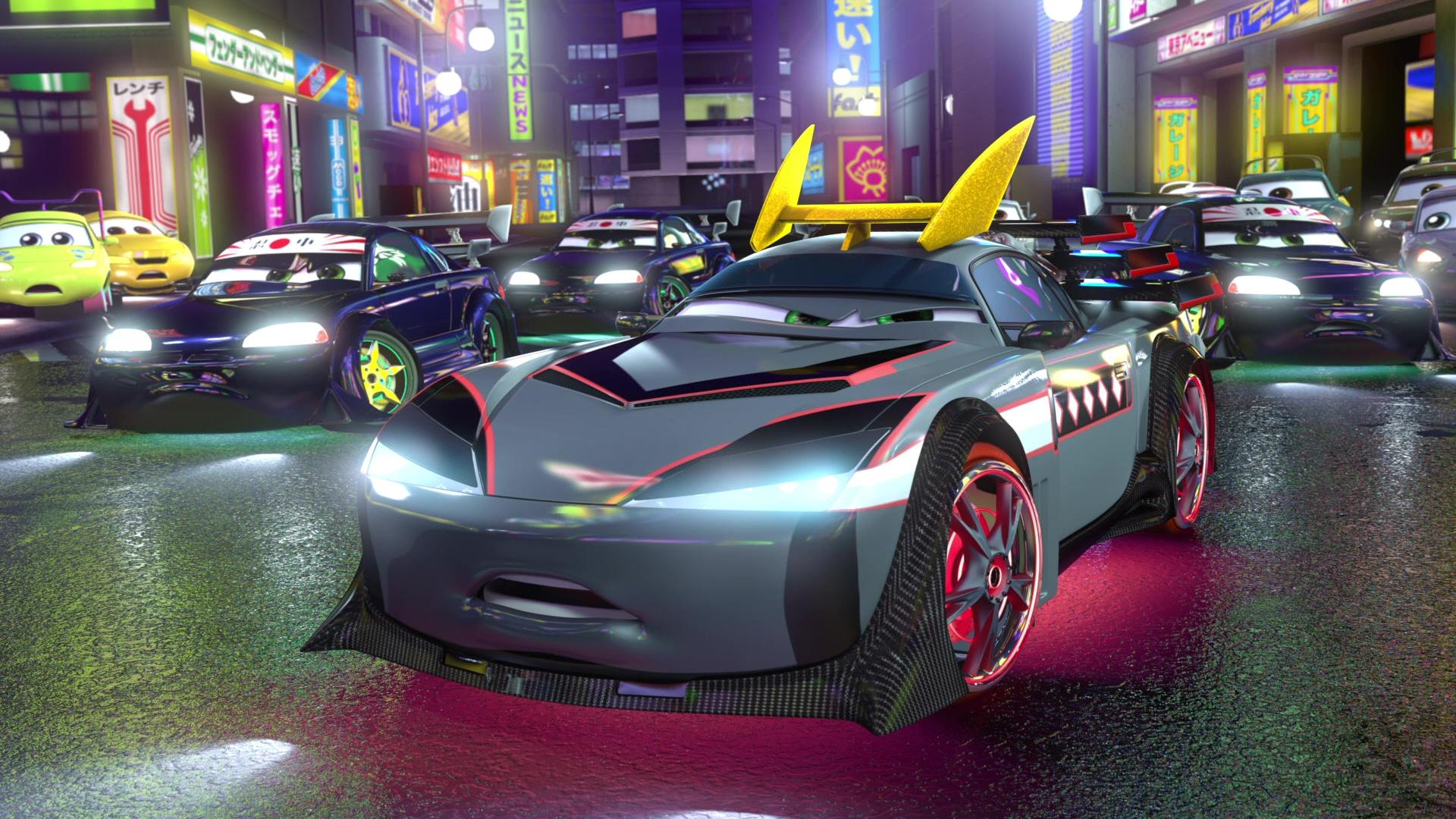 pixar disney personnage character cars toon martin tokyo mater kabuto