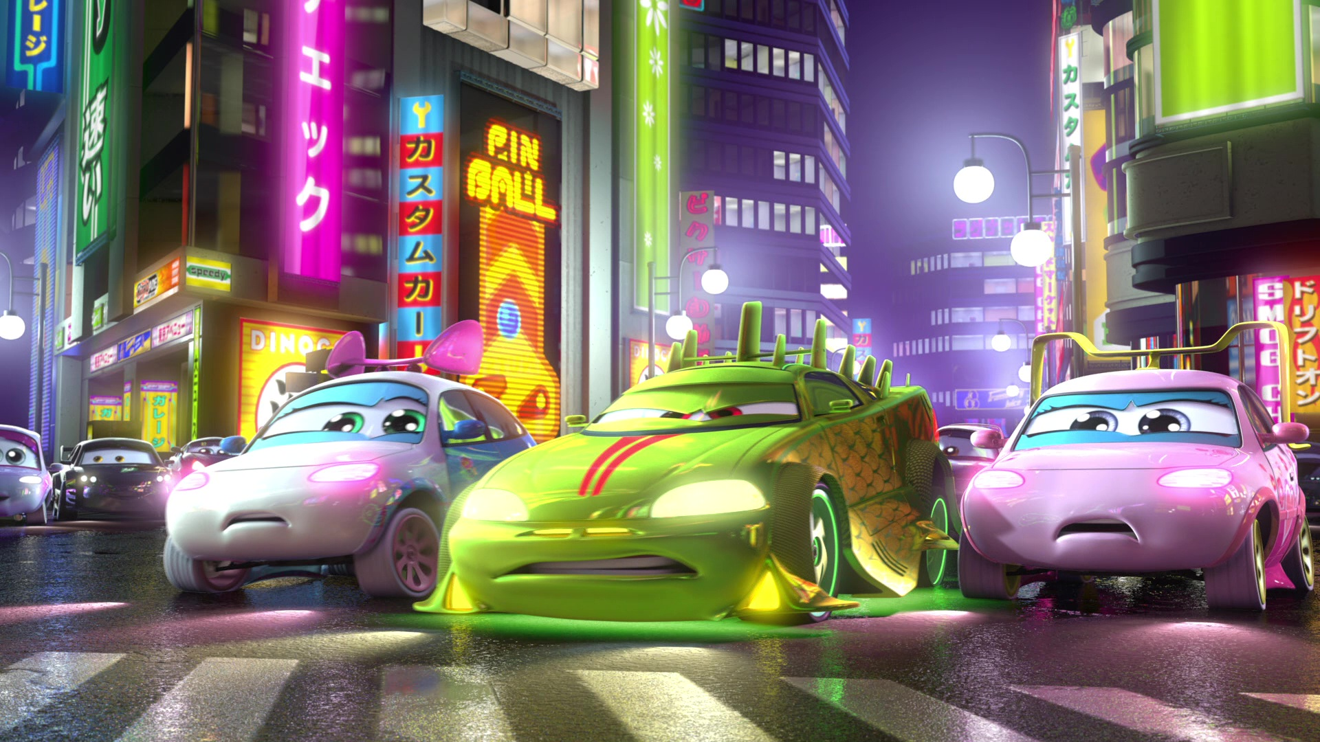 "Characters From ""Cars Toon""."