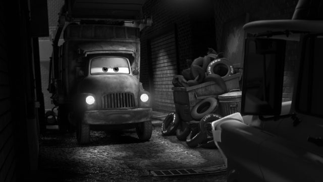 le putois stinky personnage character cars toon disney pixar
