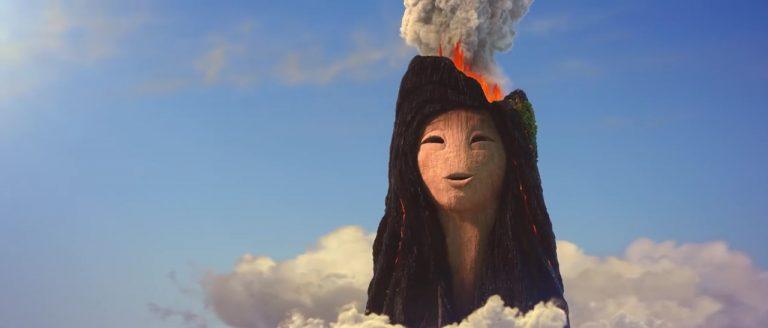 """Lélé, personnage dans """"Lava""""."""