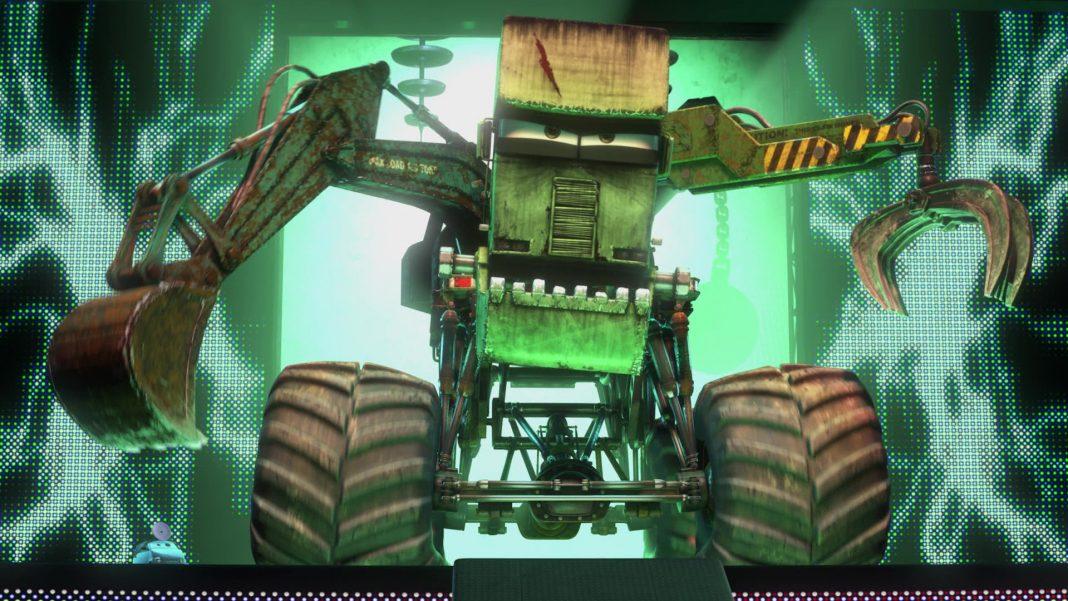 pixar disney personnage character cars toon martin poids lourd monster truck mater docteur frankenwagon dr monstre monster