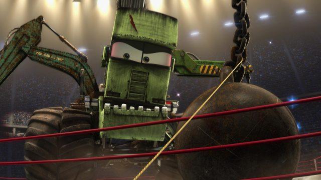 monstre docteur frankenwagon personnage character cars toon disney pixar
