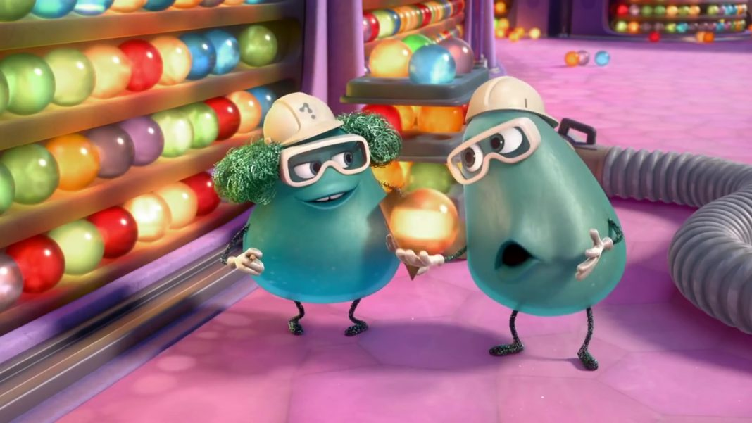 Pixar disney oublieurs forgetter paula bobby personnage character vice versa inside out