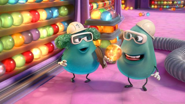 paul bobby  personnage character vice versa inside out disney pixar