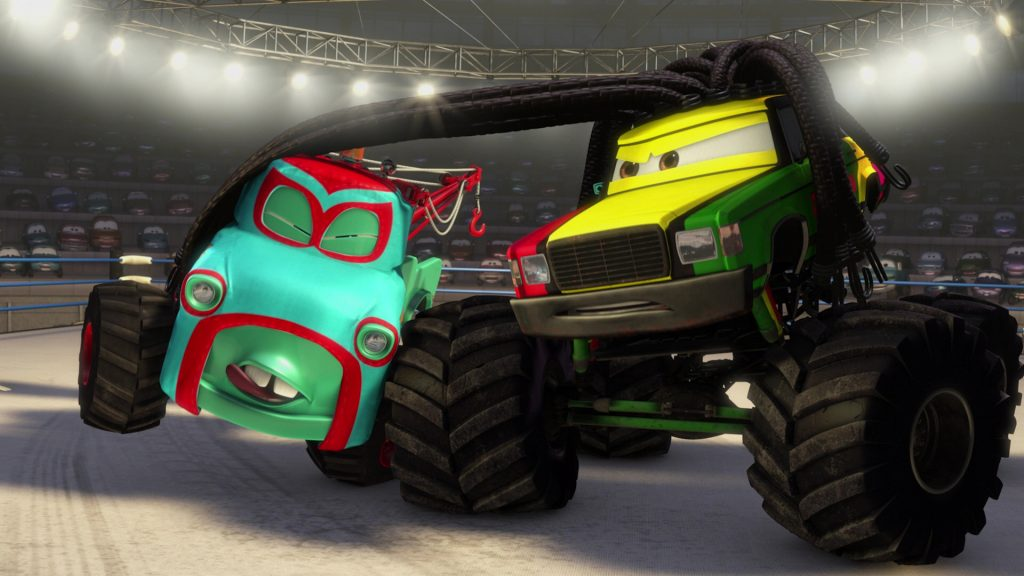 pixar disney personnage character cars toon martin poids lourd monster truck mater Rastatineur rasta carian