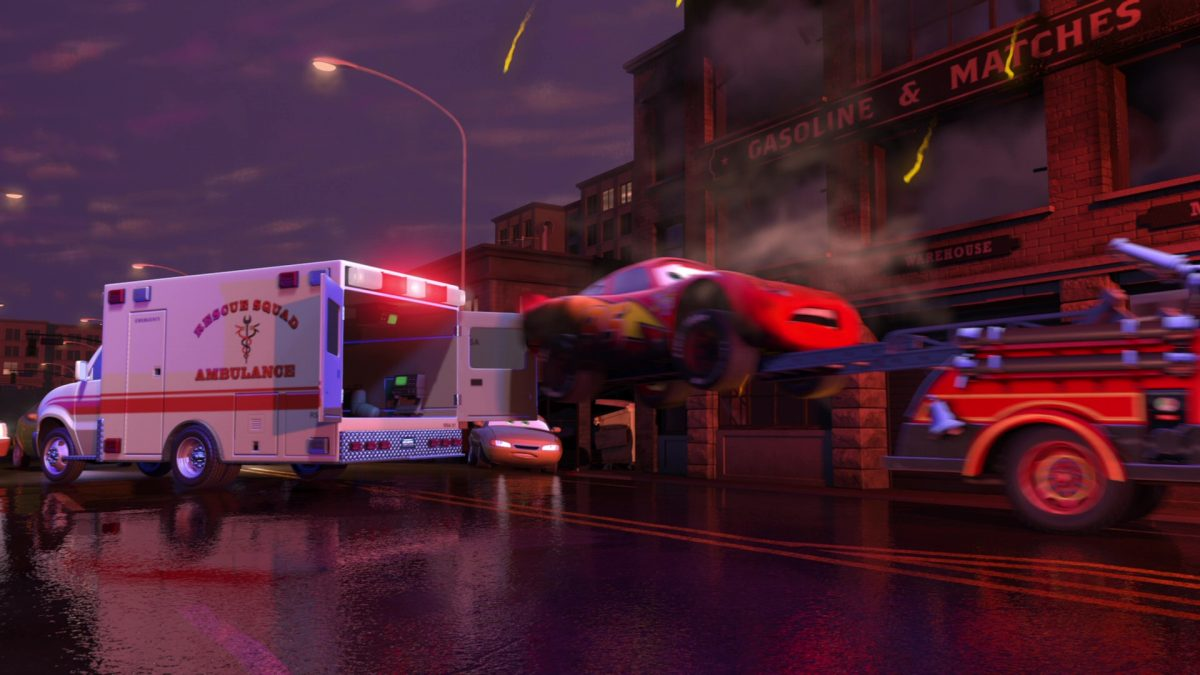 rescue squad ambulance personnage character cars toon disney pixar