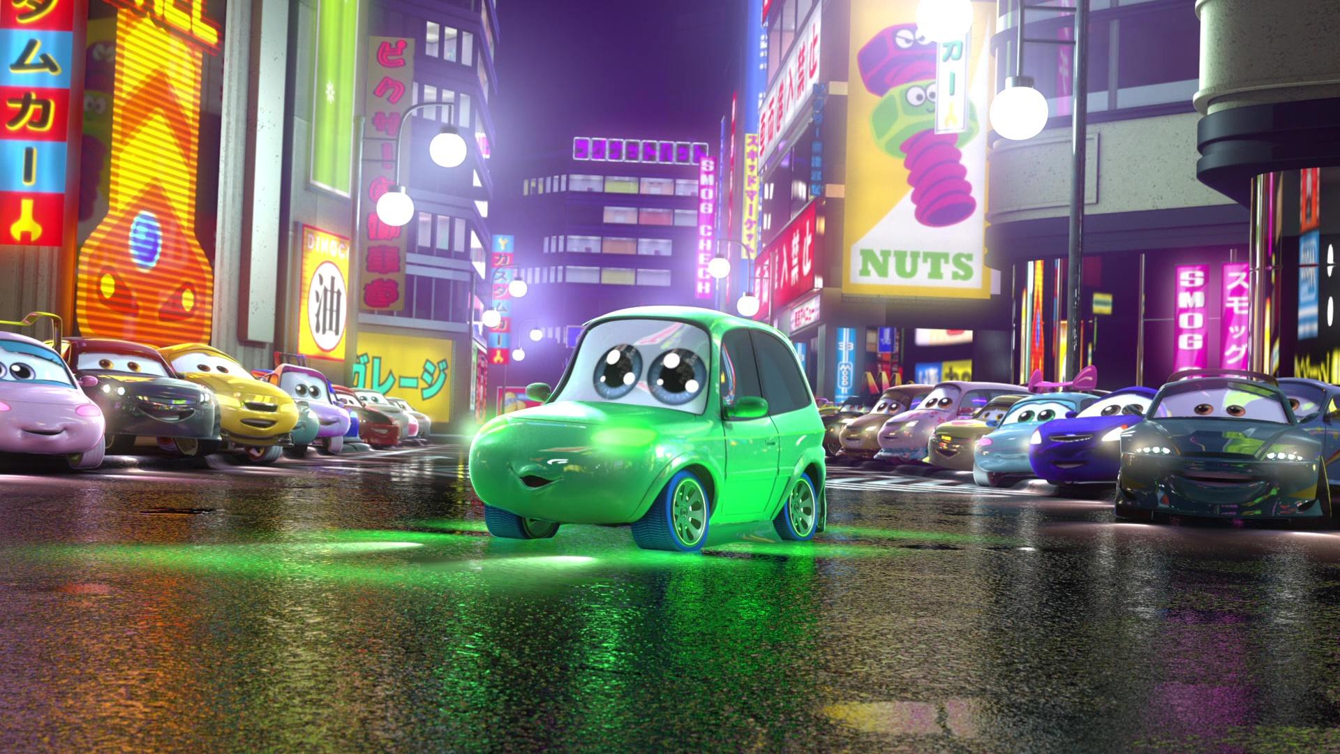 pixar disney personnage character cars toon martin tokyo mater ninja sanban