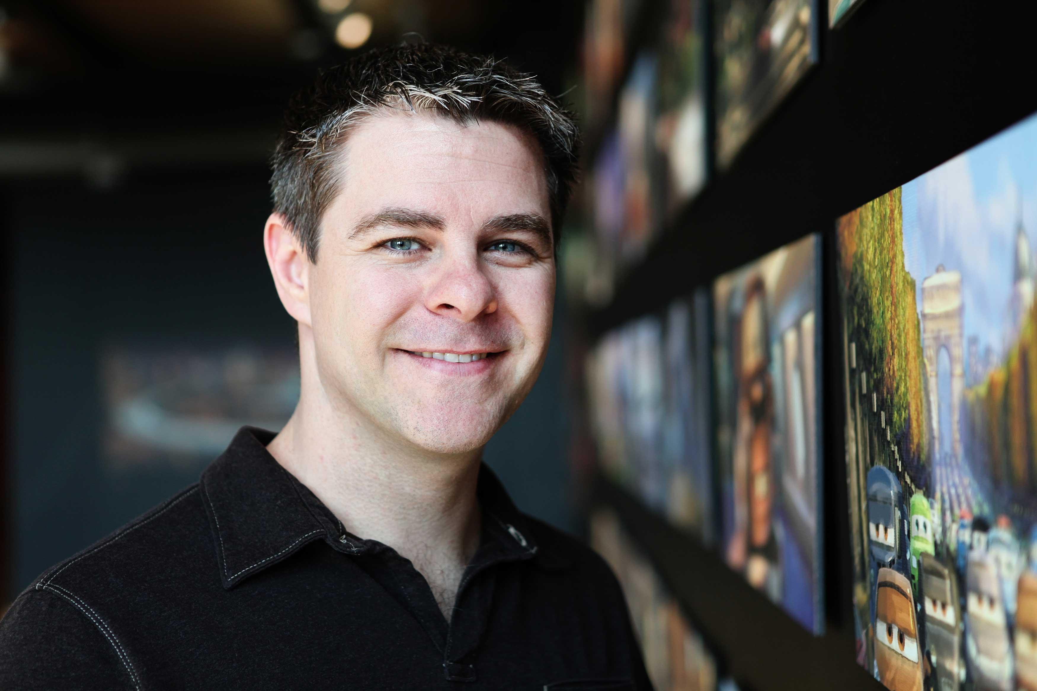 Pixar disney scott morse