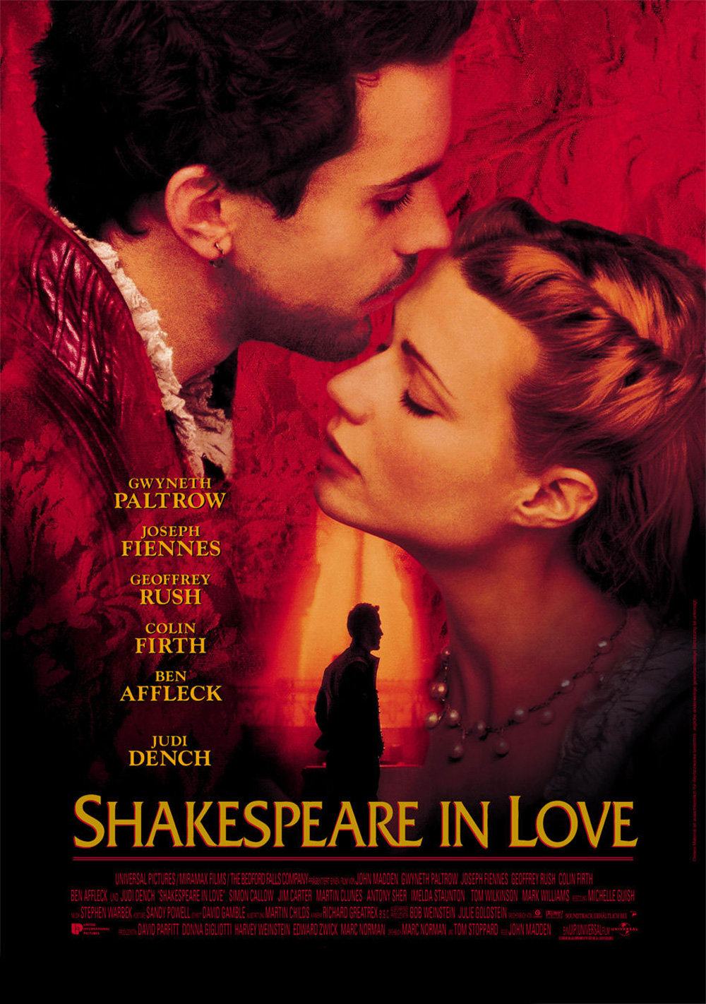 Disney Miramax film shakespeare in love affiche poster