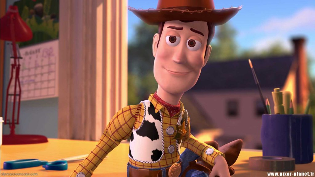 pixar disney woody toy story