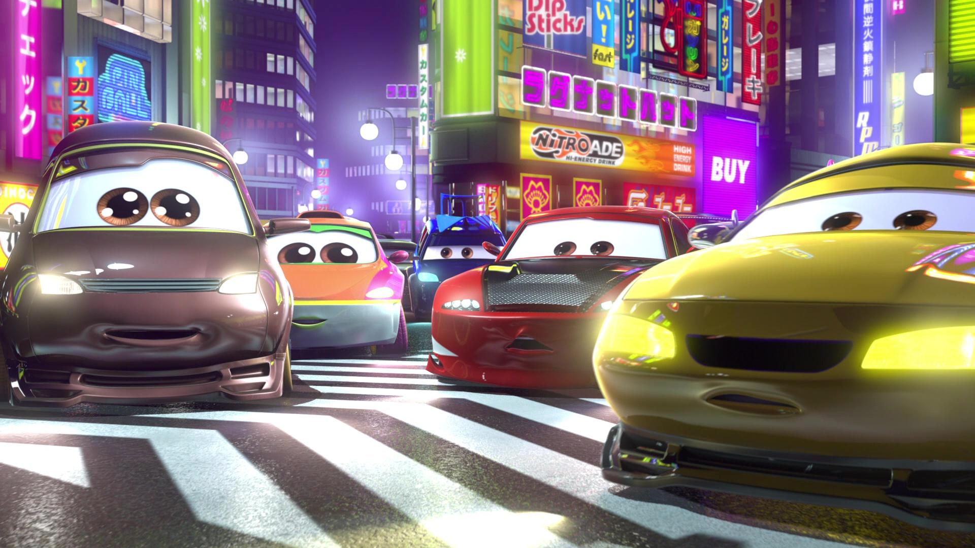 """Yojimbo, Character From """"Cars Toon : Tokyo Mater""""."""