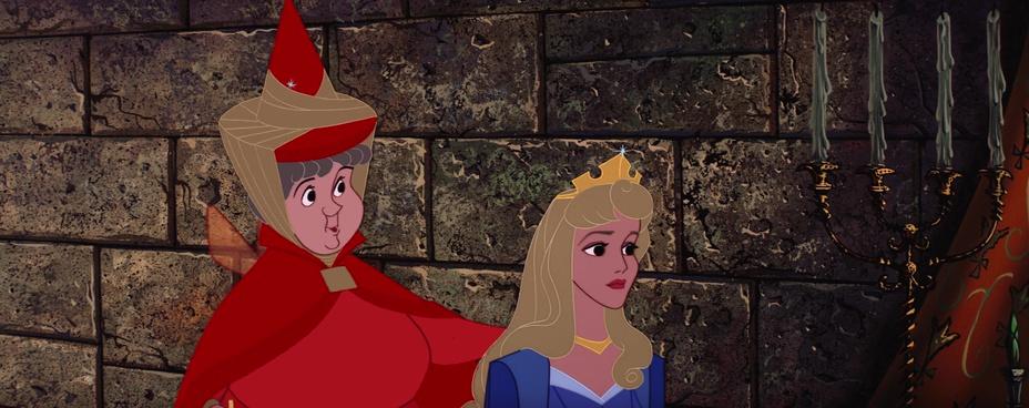 Les faux raccords dans la belle au bois dormant - Couronne princesse disney ...