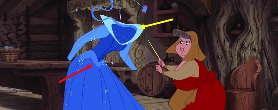 Illustration Faux Raccords La Belle au Bois Dormant