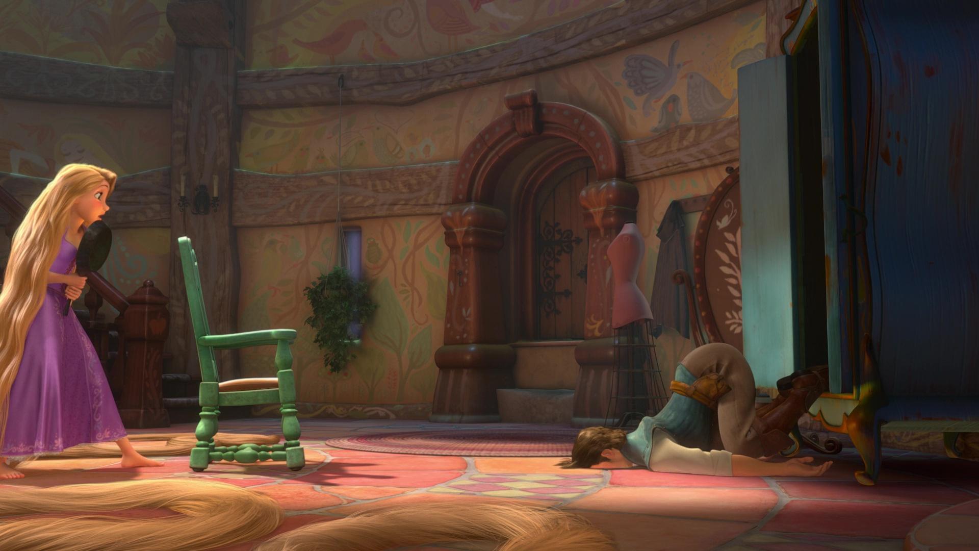 Illustration Faux Raccords Raiponce Disney