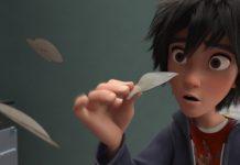 Illustration Faux raccords les nouveaux héros Disney