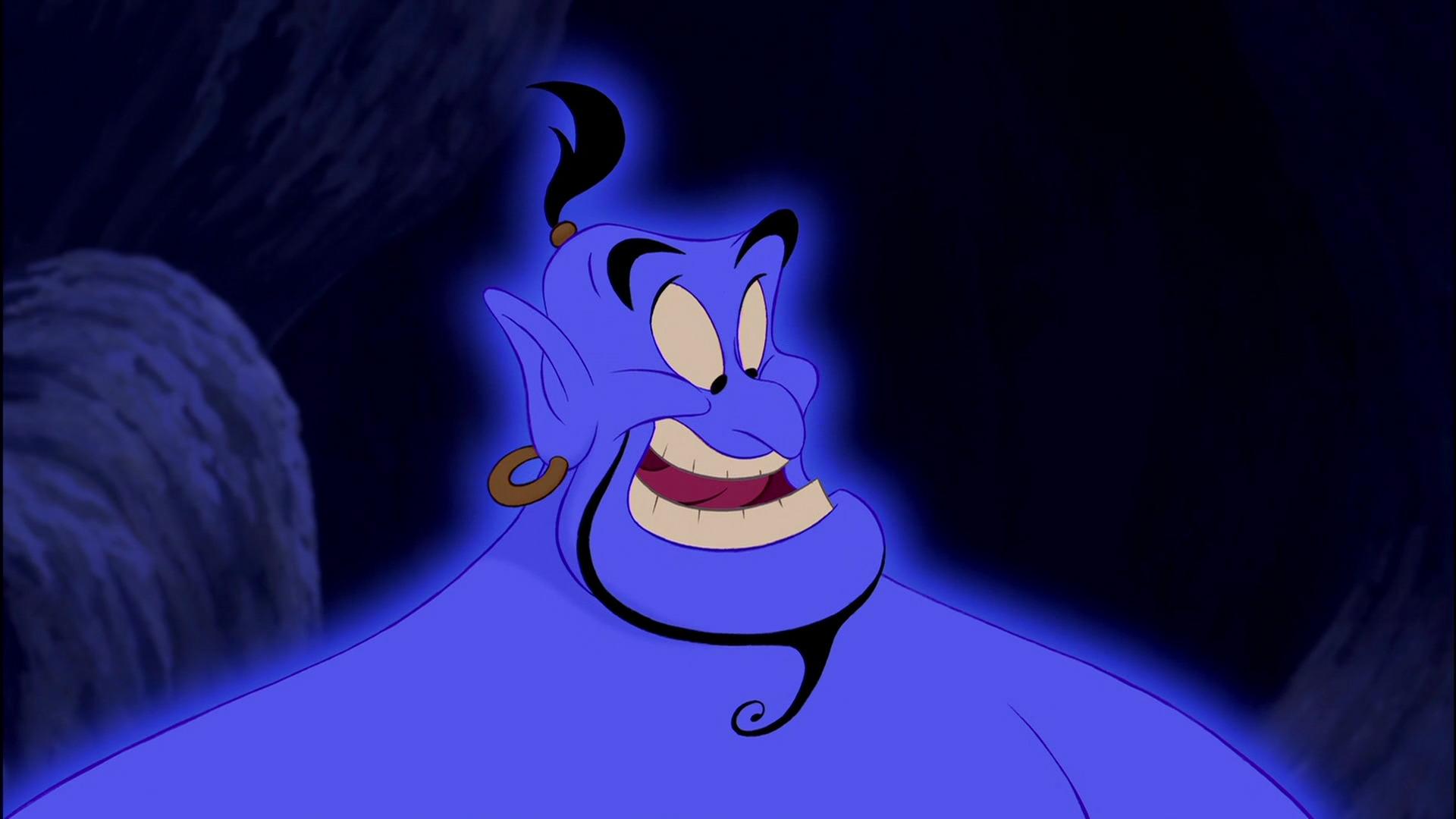 Illustration Disney Génies