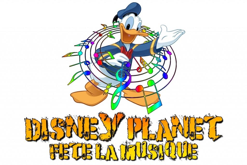 Logo disney planet fête la musique