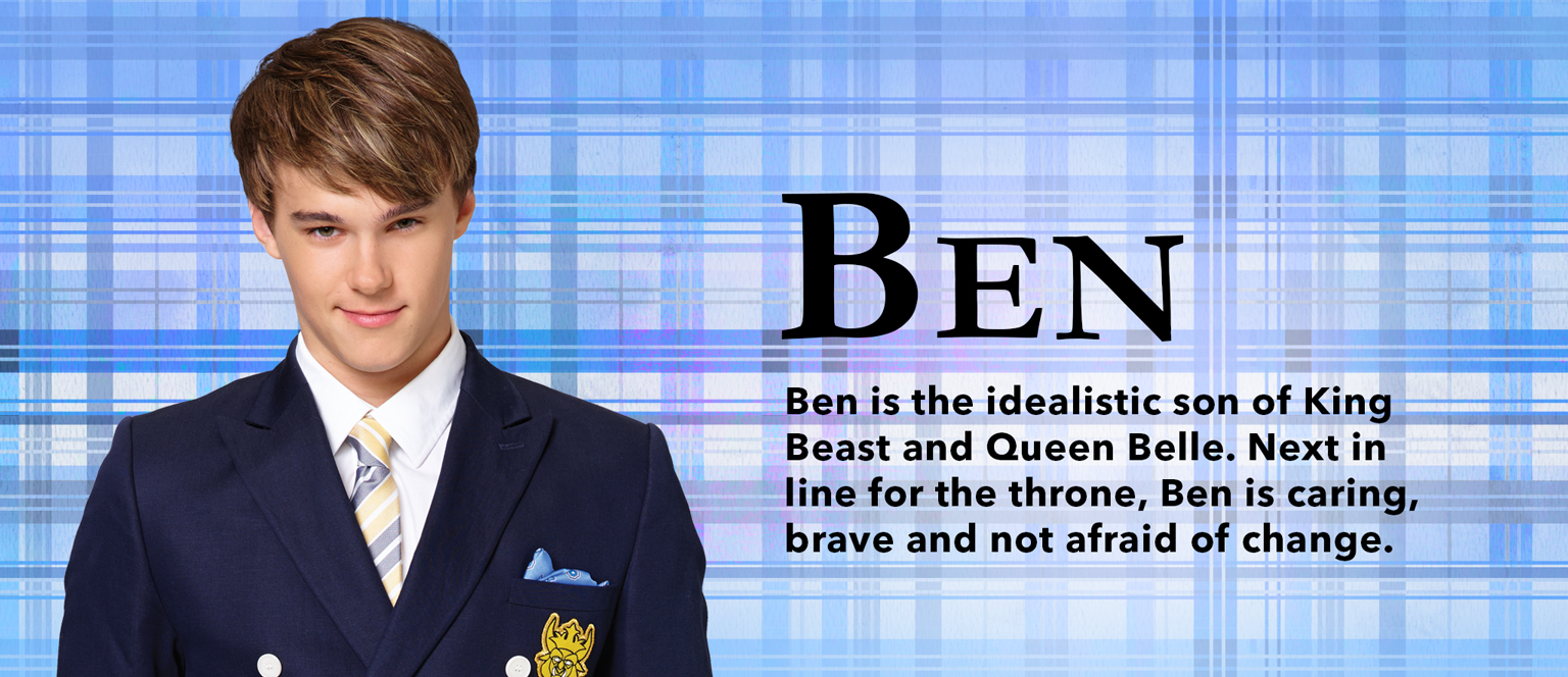 disney personnage character descendants ben