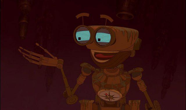 ben personnage planete tresor character disney treasure