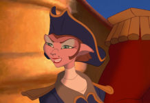 capitaine amelia personnage planete tresor character disney treasure