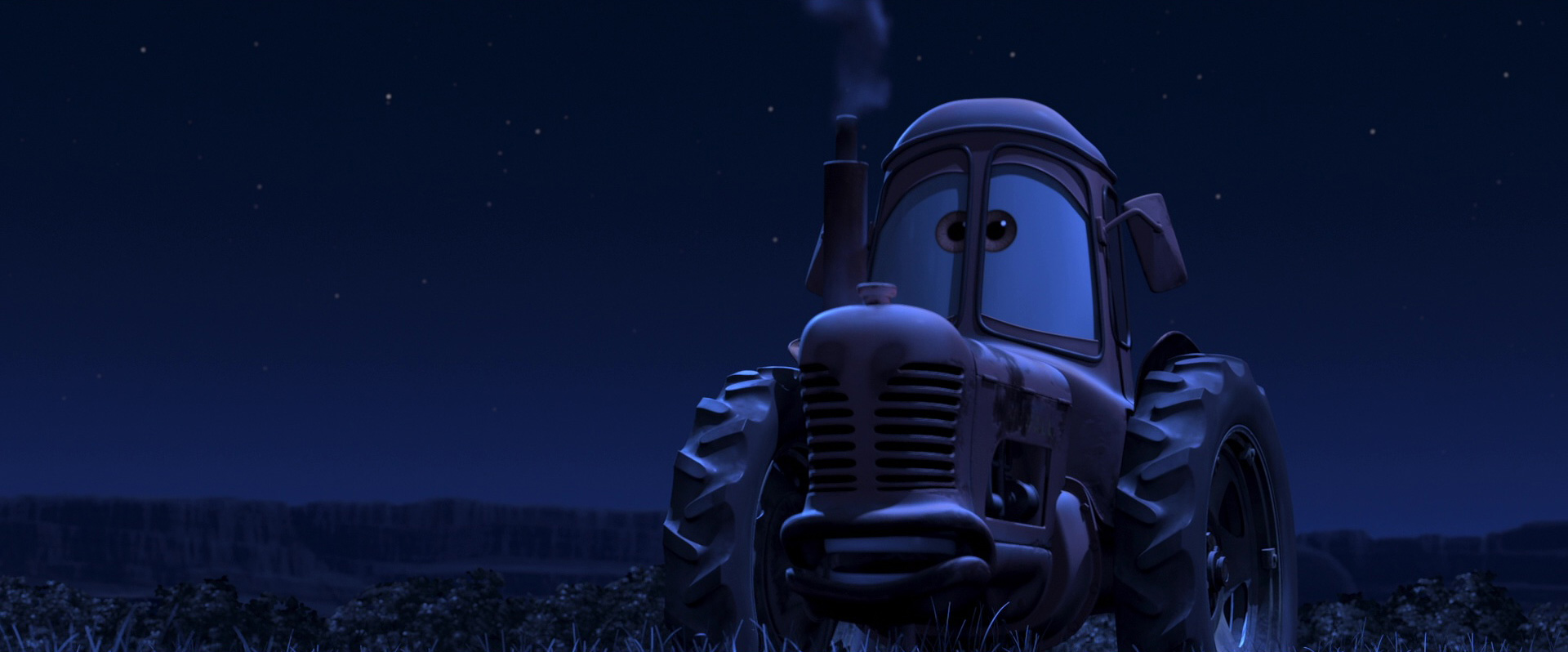 The car ification of scenery in the cars franchise - Tracteur cars ...
