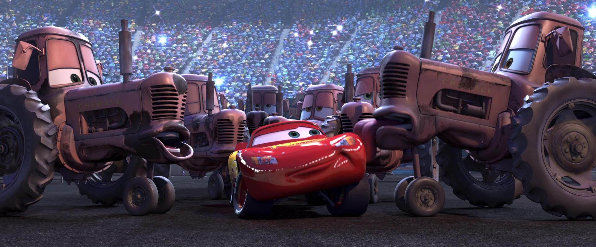 La carisation les d cors de la franchise cars - Cars et les tracteurs ...