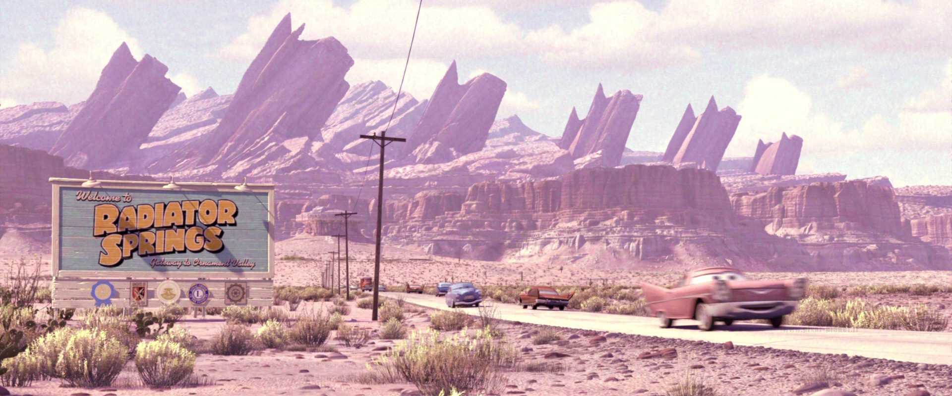 The Car Ification Of Scenery In The Cars Franchise