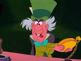 Chapelier fou toqué Mad Hatter Personnage Alice au pays des merveilles Disney Character Wonderland