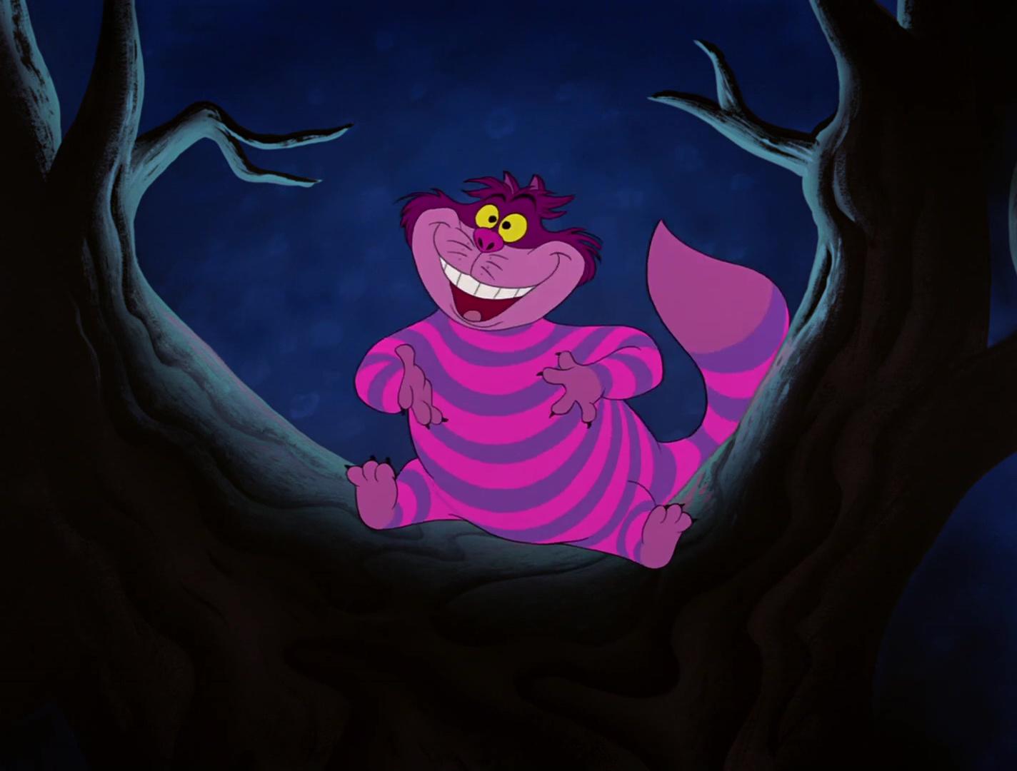 Chat du Cheshire - Alice au Pays des Merveilles   Chat de ...