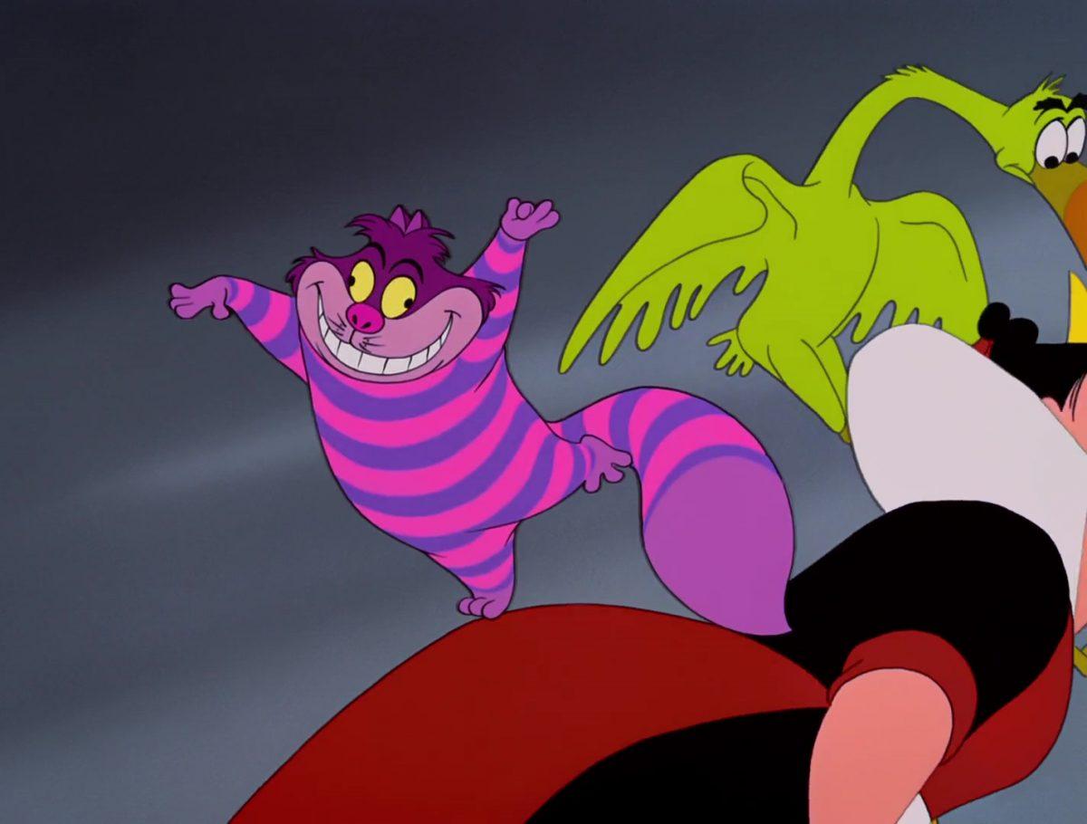 Chat Chester Cat Cheshire Chafouin Personnage Alice au pays des merveilles Disney Character Wonderland