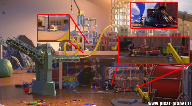 """Les clins d'oeil dans """"Toy Story : Hors du temps""""."""
