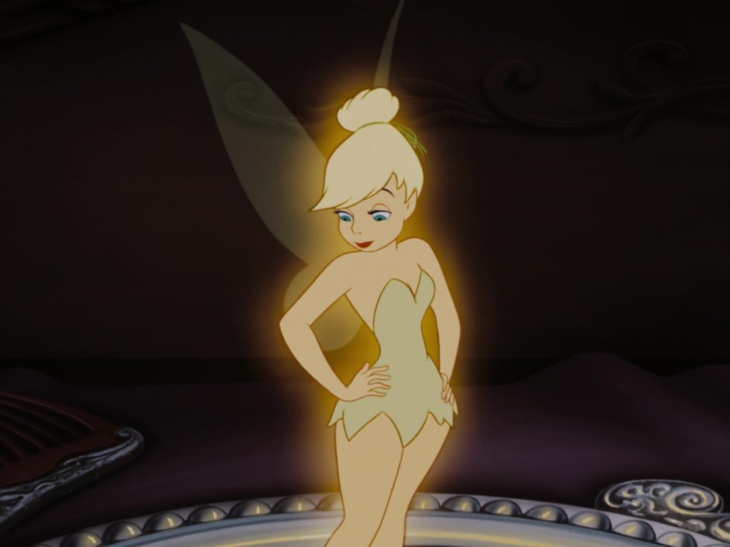 fée clochette tinker bell disney animation personnage character peter pan