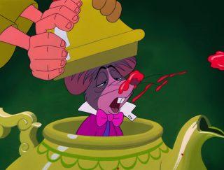Loir Dormouse Chafouin Personnage Alice au pays des merveilles Disney Character Wonderland