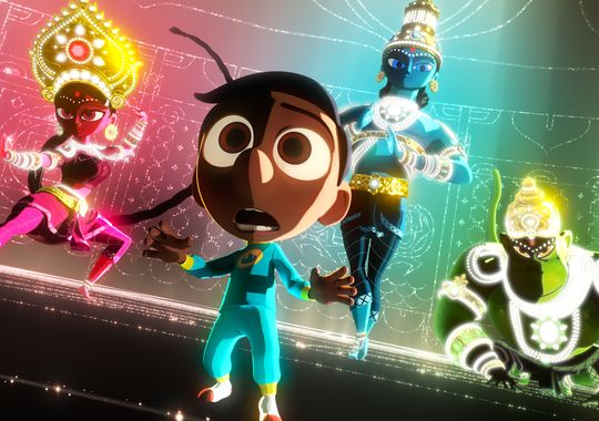 Pixar disney sanjay's super team