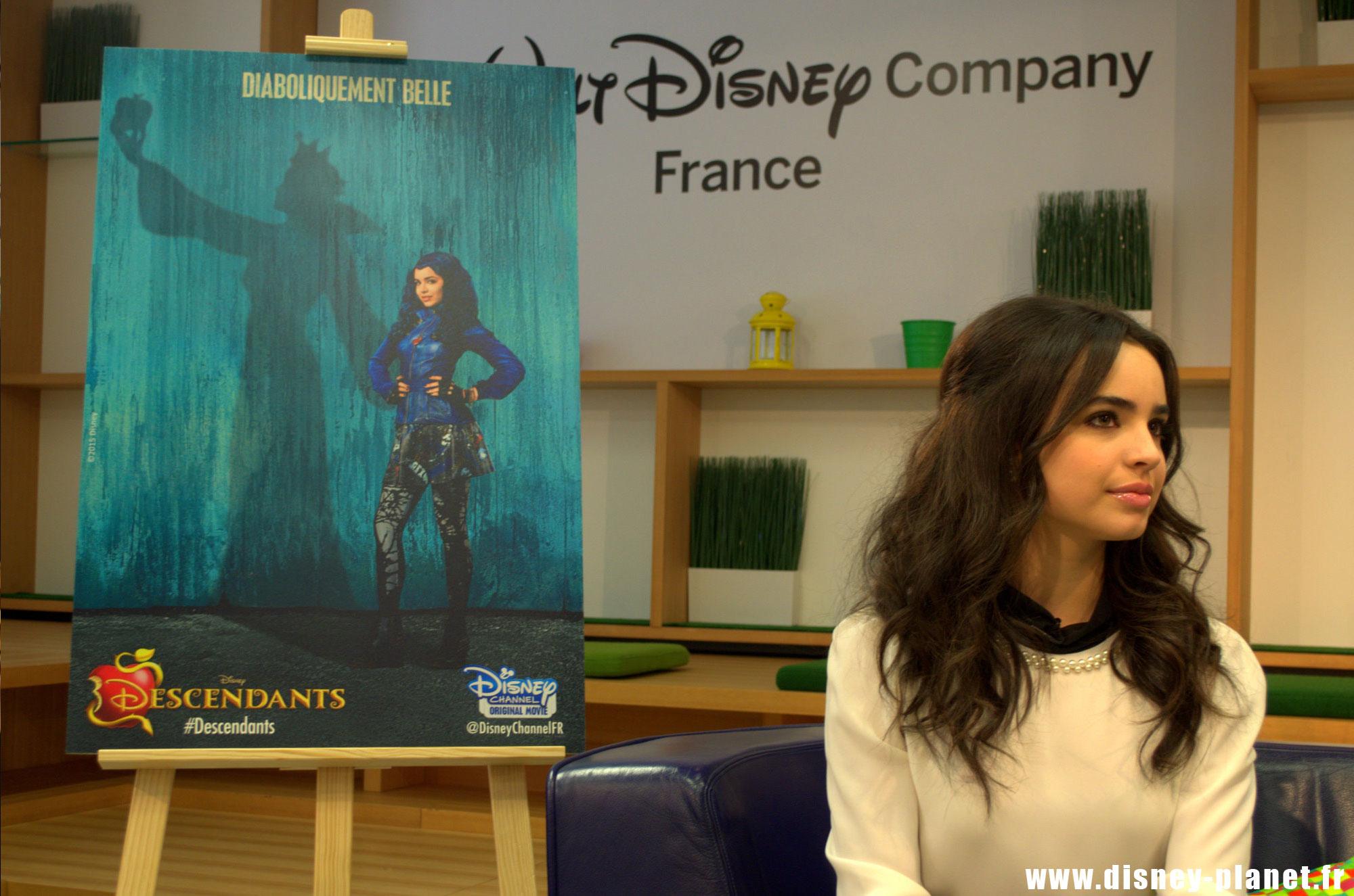 Disney Sofia Carson Descendants channel original movies