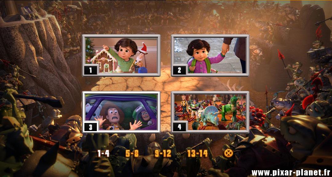 pixar disney toy story angoisse au motel hors du temps toons dvd menu