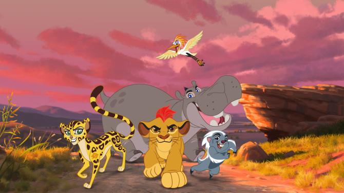 Disney Illustration Actu The Lion Guard Return of the roar