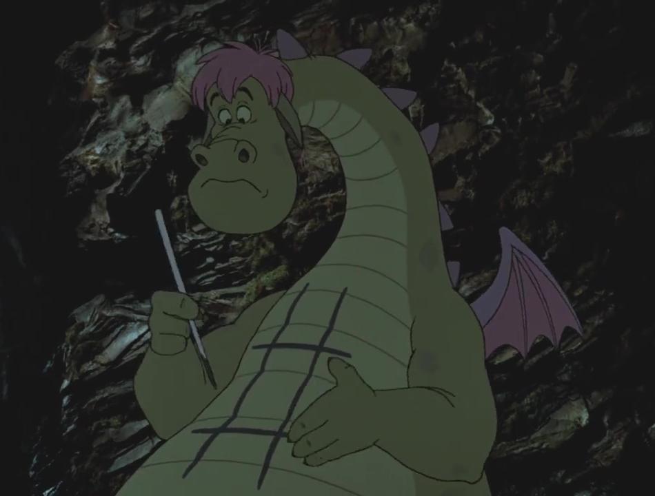 Illustration Faux Raccords Peter et elliot le dragon
