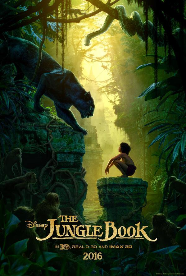 Illustration Disney Le Livre de la Jungle Le Film 2016 D23