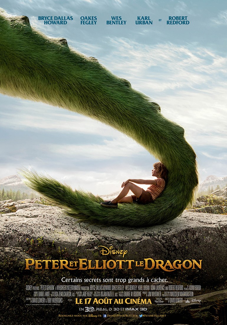disney affiche poster film 2016 peter elliott pete dragon
