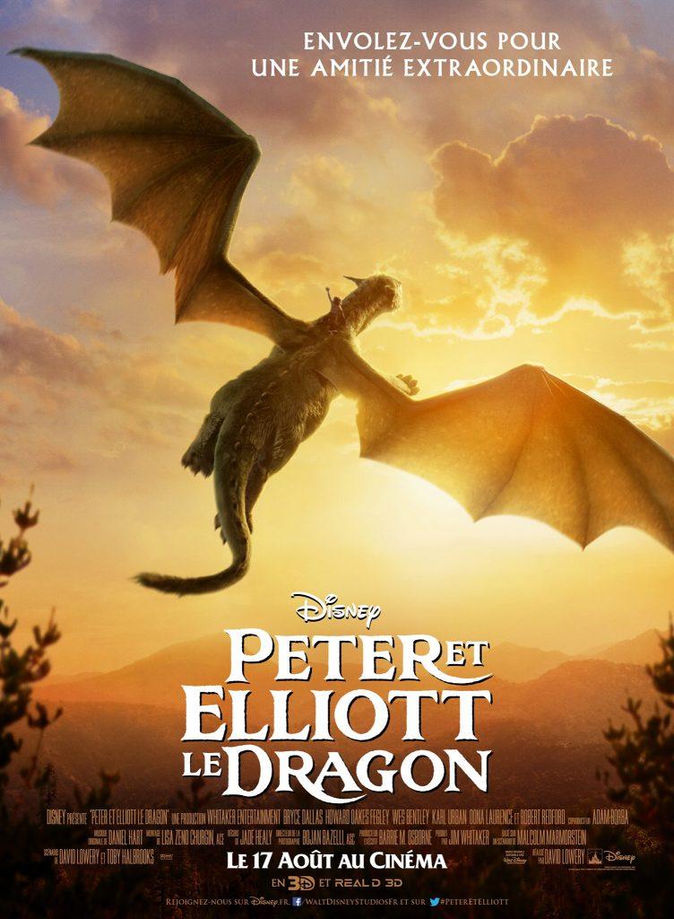 disney affiche poster film 2016 peter elliott pete dragon