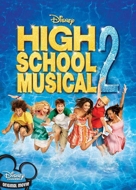 affiche poster high school musical 2 disney channel
