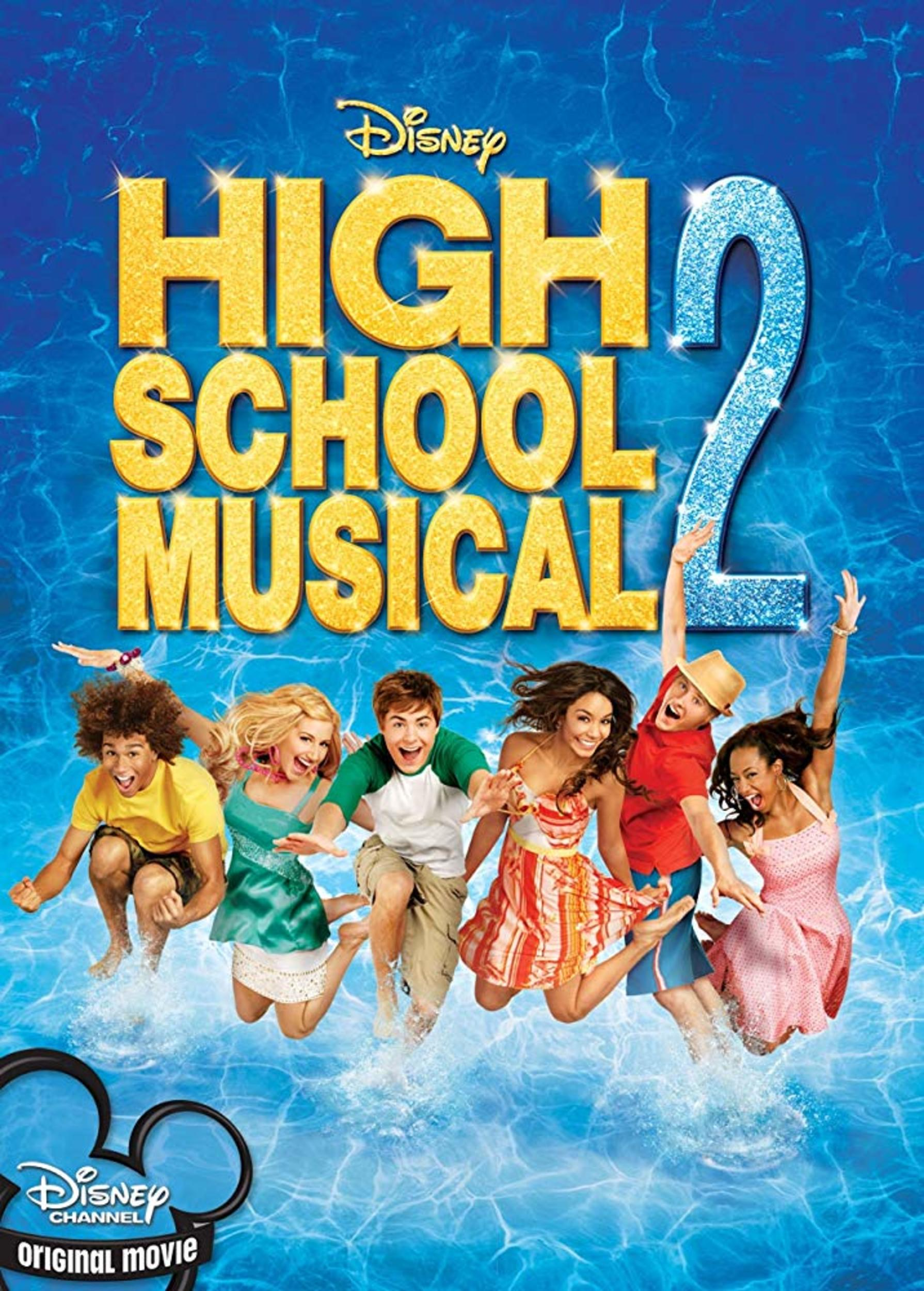 affiche poster high school musical 2 disney channel